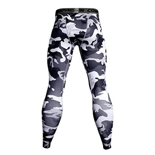 ITISME Homme Automne Et Hiver Mode Casual Collants-Sport Leggings Pantalons de Compression pour Hommes Collants de Sport Collants Leggings Collants de Fitness