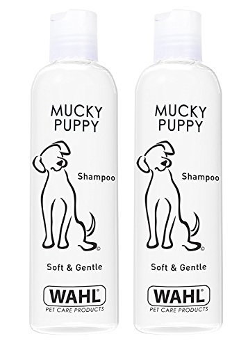 Wahl Dog Shampoo Mucky Puppy Shampoo for Pets, Pack of Two 250 ml Each