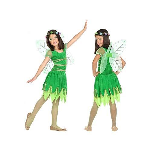 Atosa-56918 Disfraz Hada, Color Verde, 7 a 9 años (56918)