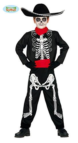 Guirca 87438 - Mariachi Skeleton Infantil Talla 5-6 Años
