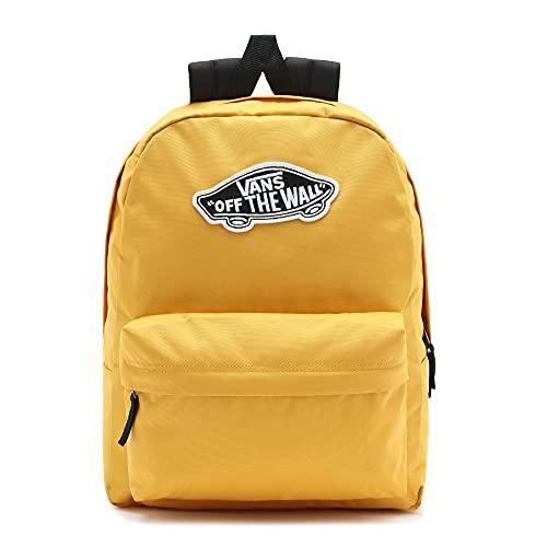 Vans Realm Backpack, Mochila Unisex Adulto, Brillo Dorado, Talla única