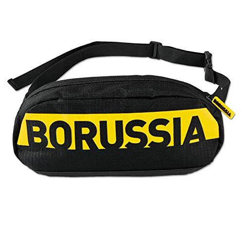 Borussia Dortmund, BVB-Bauchtasche, Schwarz, 0