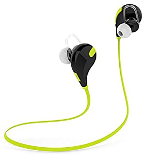 Vagavo Runner Wireless Bluetooth Headphones Noise Cancelling Headphones Microphone Sports Running Gym Exercise Sweatproof Wireless Bluetooth Earbuds Headset For Iphone 6 6 Plus 5 5c 5s 4 Apple Watch And Android Green B00p6t9abu Amazon Price