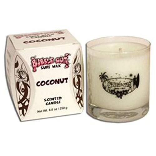 Bubble Gum Duftkerze im Glas Kokosnuss Duft 250g