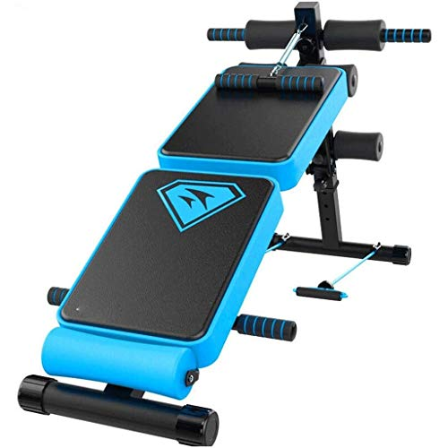Review Of DEJA Sit-up Board, Foldable Sit-up Bench Height Adjustable Fitness Equipment Heavy Duty Decline AB Bench for Home Gym Strength Training