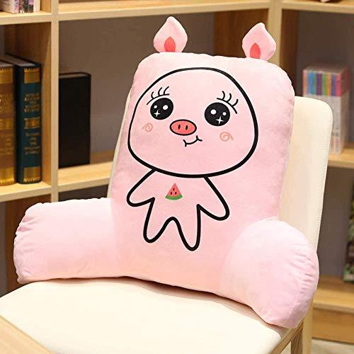 FEPRII Cojín de respaldo para cama, almohada de lectura con brazos y apoyo de espalda, cojín para cama y sofá, almohada de apoyo