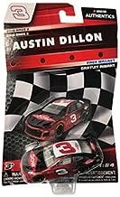 NASCAR Authentics Austin Dillon #3 Dow Diecast Car 1/64 Scale - 2018 Wave 2 - Austin Dillon 2018 No. 3 Dow with Die-Cut Magnet - Collectible
