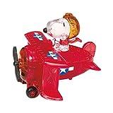 Unbekannt Crystal Puzzle 59151 - Juguete, diseño de Snoopy en avión