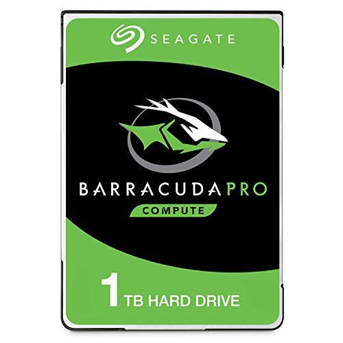 Seagate BarraCuda Pro, 1 TB, Disco duro interno de alto rendimiento, HDD 2,5