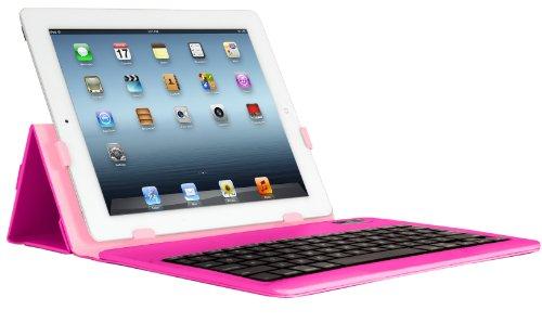 iHome Type Series: Type Slim Bluetooth Keyboard Case for iPad 2/3/4, Pink