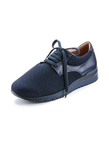 Avena Herren Hallux-Freizeit-Sneaker Blau Gr. 44