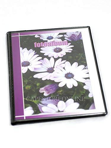 Puntofotoidee Album photo personnalisable à pochettes 40 photos Recto-verso Couverture souple 10 x 15 cm