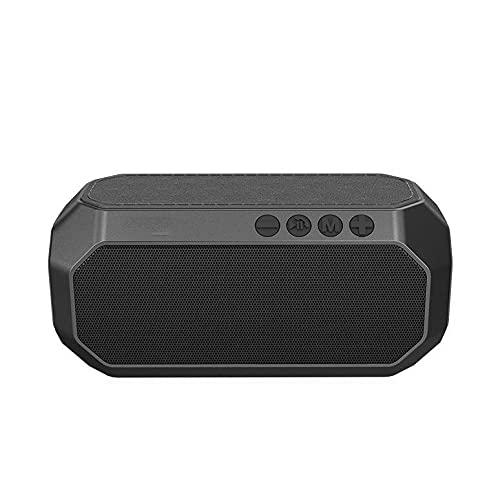 XIXIDIAN Altavoz Bluetooth Portátil, IPX6 a Prueba de Agua, Sonido estéreo Fuerte y bajo, Bluetooth 5.0, para Fiesta en casa, al Aire Libre
