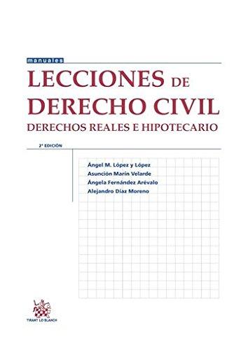Lecciones de Derecho Civil Derechos Reales e Hipotecario 2ª Ed. 2014 (Manuales de Derecho Civil y Mercantil)
