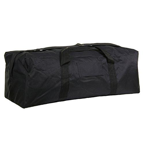 alxshop–Sacchetto di pilota olandese, Nero (nero), Taille unique