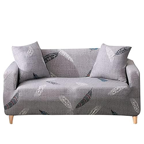 Elastiskt hörnsofföverdrag för vardagsrum fåtölj grå soffa sektionssoffa schäslong överdrag vardagsrum 1/2/3/4 sits A27 1 sits