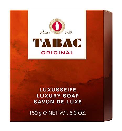 Tabac® Original | Luxusseife - von feinster Qualität - mild - große Schaumfülle - Original Seit 1959 | 150g