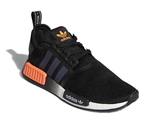 adidas Herren NMD_R1 Sneaker Schwarz, 40
