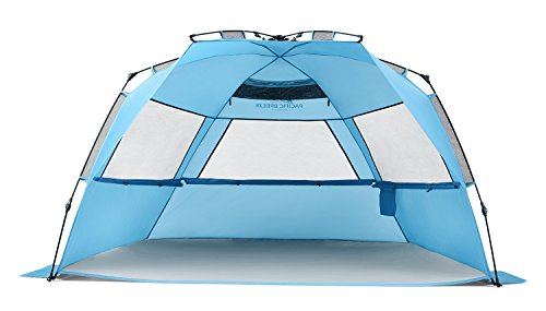 Pacific Breeze Easy Up Beach Tent Deluxe XL ... 9b1374d33b61