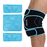 REVIX Ice Pack for Knee Pain Relief Reusable Ice Wrap with Cold