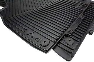 Original Audi Gummimatten Original Qualität Fußmatten Gummi schwarz 2 teilig