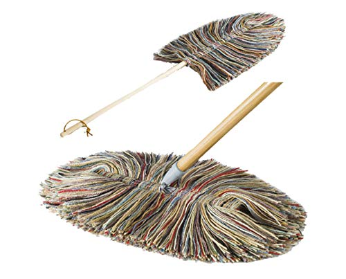 Sladust Big Wooly and Hand Duster with Wood Handles