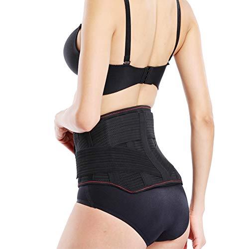 WCX Cintura de Soporte Cinturón Hombre Mujer Faja Lumbar Corrector de Postura y...