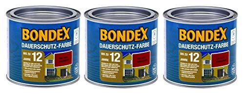 Bondex Dauerschutz Farbe 1,5 Liter, signalrot RAL 3001
