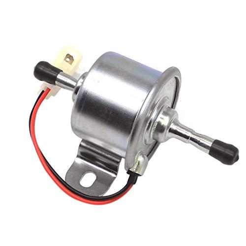 Weelparz 16851-52030 12V Diesel de La Bomba de Combustible Eléctrica R1401-51352 R1401-51350...