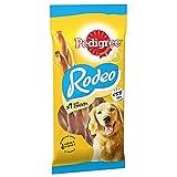 Pedigree Rodeo - Dog Treats with Chicken, 84 Sticks, 12 x 123 g