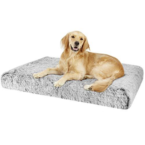 BingoPaw Cama para Perros Grandes Colchoneta de Espuma Viscoelástica para Mascotas Cama Antideslizante e Impermeable con Funda Extraíble 3XL 127 x 88 x 12cm