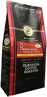 コーヒー豆 クラシカルコーヒーロースター 100%アラビカ豆 プレミアムブレンド 250g (8.8oz) 豆のまま