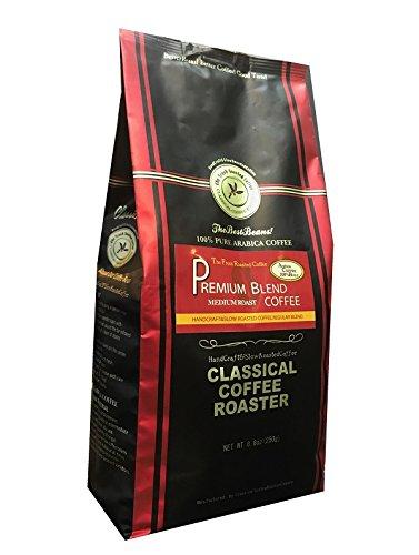 コーヒー豆 クラシカルコーヒーロースター 100%アラビカ豆 プレミアムブレンド 250g (8.8oz) 細挽