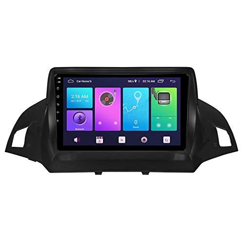 Android 10.0 Car Stereo Double Din Compatible con Ford C-MAX KUGA ecosport 2011-2018 Navegación GPS Unidad principal de 9 pulgadas Reproductor multimedia MP5 Receptor de video y radio con 4G WIFI DSP