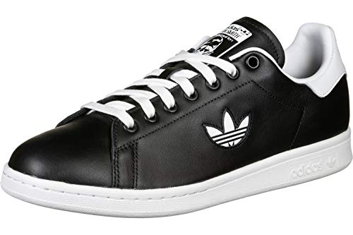 adidas Herren Stan Smith Gymnastikschuhe, Schwarz (Core Black/Ftwr White/Core Black), 49 1/3 EU