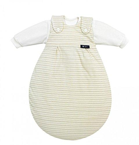ALVI 423501056 Baby Mäxchen Streifen beige Größe 50/56
