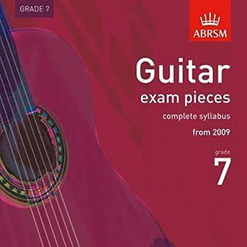 Guitar Exam Pieces from 2009, ABRSM Grade 7