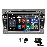 Auto Stereo Android 8.1 Radio DVD Player GPS NAVI 7 Inch IPS 2 Din Fits für Opel Antara Vectra Crosa Vivaro Zafira Meriva mit Rear Camera Support Bluetooth WiFi Spiegel Link USB SWC...