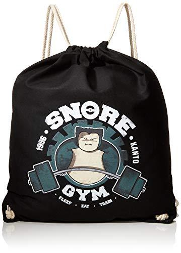 TEXLAB - Snore Gym - Turnbeutel, schwarz, Einheitsgroße