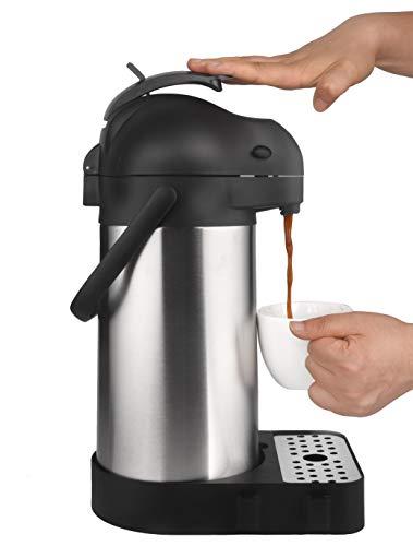 Cresimo 74 Ounce (2.2 Liter) Airpot Thermal Coffee Carafe