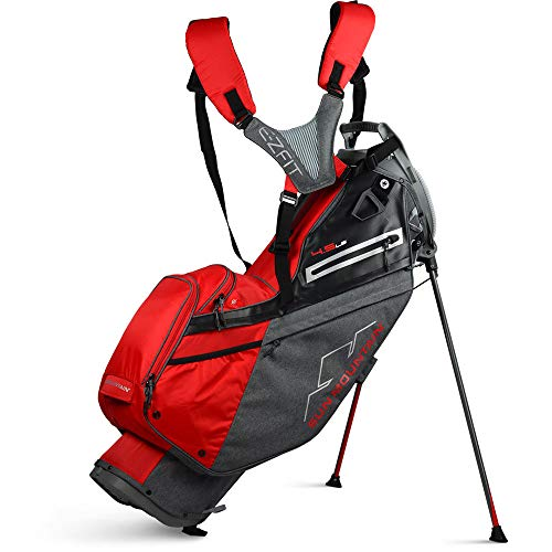 Sun Mountain New 2020 4.5 LS Stand Bag - (Carbon/Red)