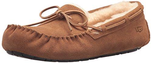 Hot Sale UGG Australia Men's Olsen Suede Slippers, 11, Chestnut