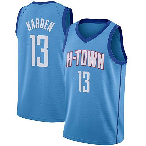 WSWZ Maglia NBA da Uomo - Maglia da Basket James Harden NBA 13# Houston Rockets - Comoda Unisex Maglietta con Canotta Sportiva da Basket,XL(180~185CM/85~95KG)