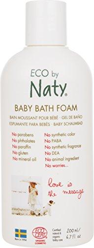 Naty 32cm, feuchtigkeitsspendener Baby Espuma de baño, Bio Sin Perfume,...