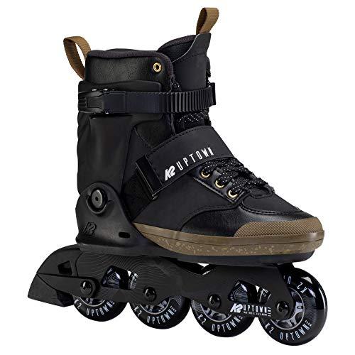 K2 Inline Skates UPTOWN Für Erwachsene Mit K2 Softboot, Black - Gold, 30F0181