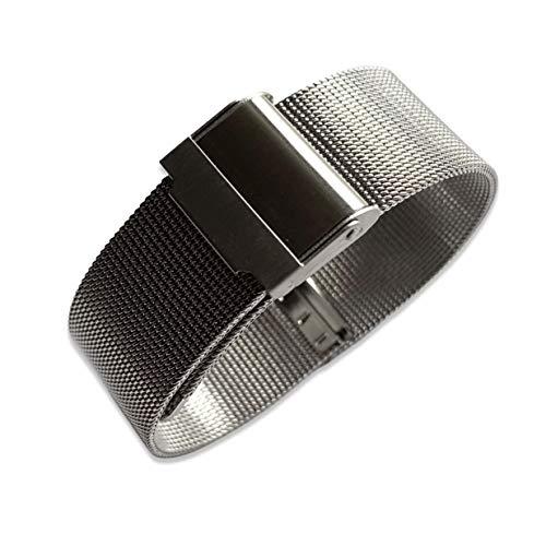 Swiss Time Orologi da 20 mm in acciaio inox legato maglia cinturino per orologio Omega Seamaster