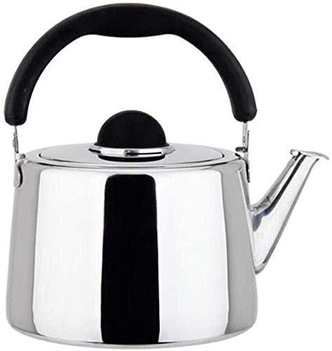 Tetera, De Gran Tamaño De Acero Inoxidable Silbado De Gas Para Inducción Cocina Cocina Camping Estufa Restaurantes (Juego De Té)
