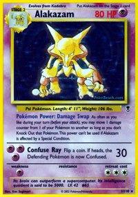 Pokemon - Alakazam (1) - Legendary Collection - Reverse Holo