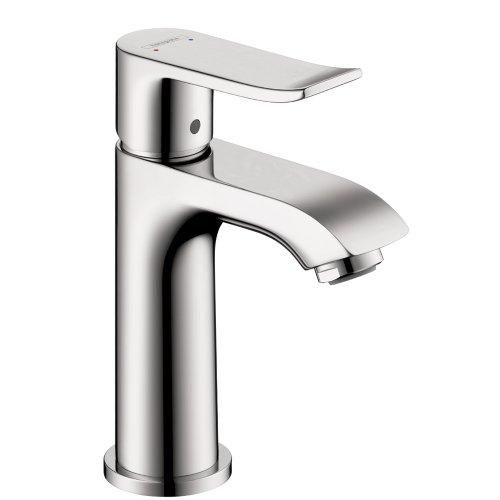 hansgrohe Metris Modern 1-Handle 6-Inch Tall Bathroom Sink Faucet in Chrome, 31088001