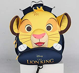"""Genuine """"The Lion King Simba"""" Backpack Collection for Boys & Girls School Bag Children Toy Beautiful Gift (B)"""